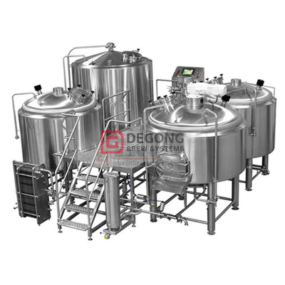 1500L Edelstahl Bier Craft System 2/3/4 Schiff Brewhouse Equipment Listing
