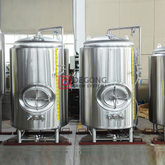 7BBL Vertikale Dimple Jacke Bier Maturing Vessels / Biertank Serving in Pub