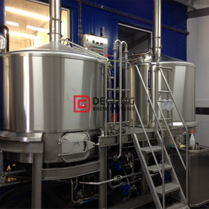 500L Commercial Turnkey 3-Schiff Craft Beer Brewing Equipment zum Verkauf